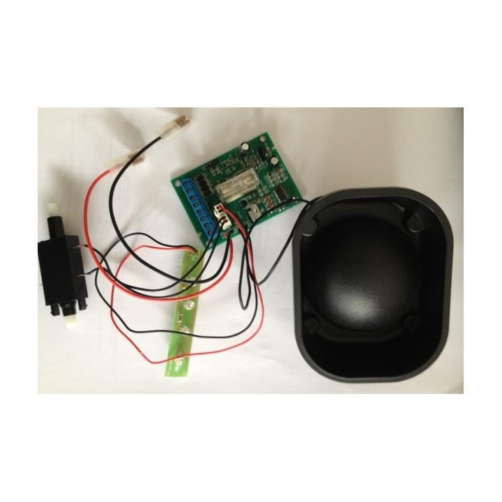 Complete electronic circuit + hp self-powered siren alarm sa120n eliminator