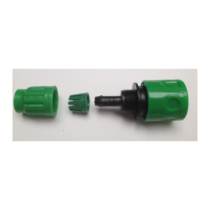 Gardena conexión rápida conector a presión para tubo extensible hose8fr hose15fr hose23fr riego