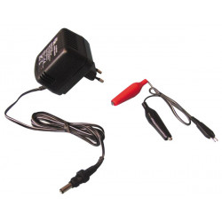 Cargador electronico automatico bateria recargable con clavija 220vca 1.4 14vcc 120ma cargadores electronicos
