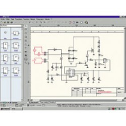 Software printed circuit splan