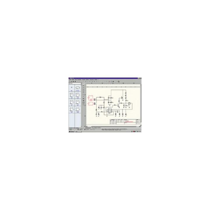Software splan gedruckten schaltung