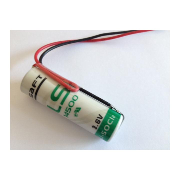Lithium saft ls 14500 2400mah 3.6v aa ls14500 cr14505 er6h ltc17c tl5104 er6aa ls14500c