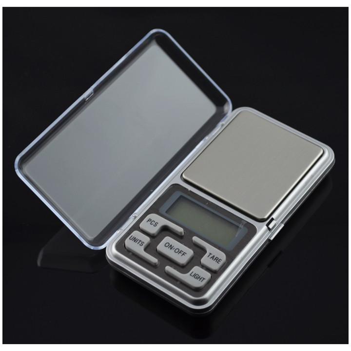 Bilancia elettronica tascabile portatile pesa 200g determinazione del peso 0.1g oggetti di piccole dimensioni