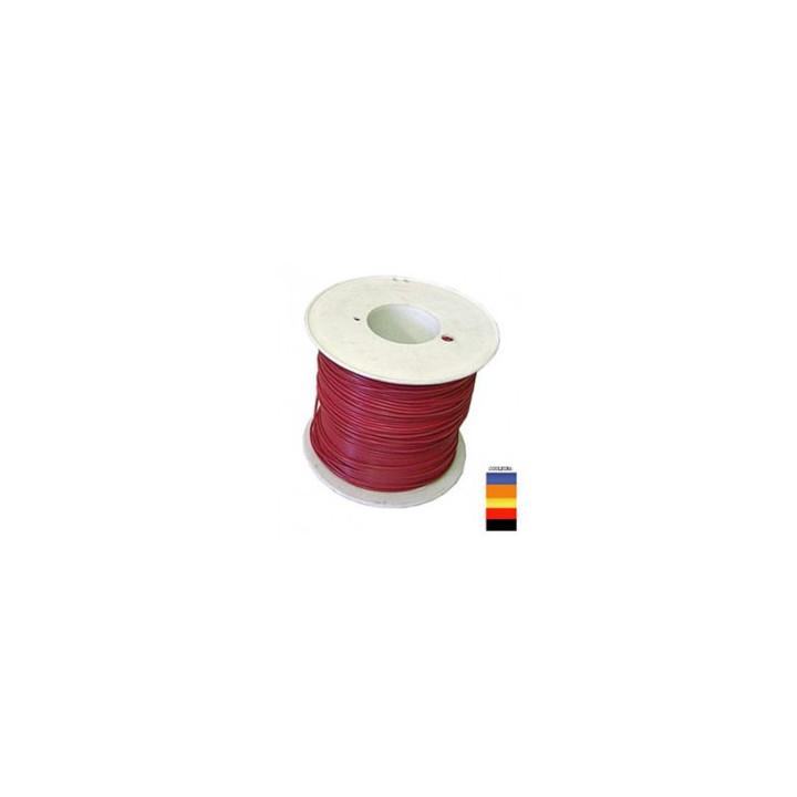 100m fil de cablage souple ø0.93mm² noir fie238n