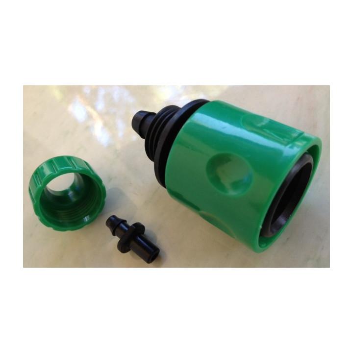 Raccord rapide clipsable gardena connecteur pour tuyau arrosage goutte a goutte