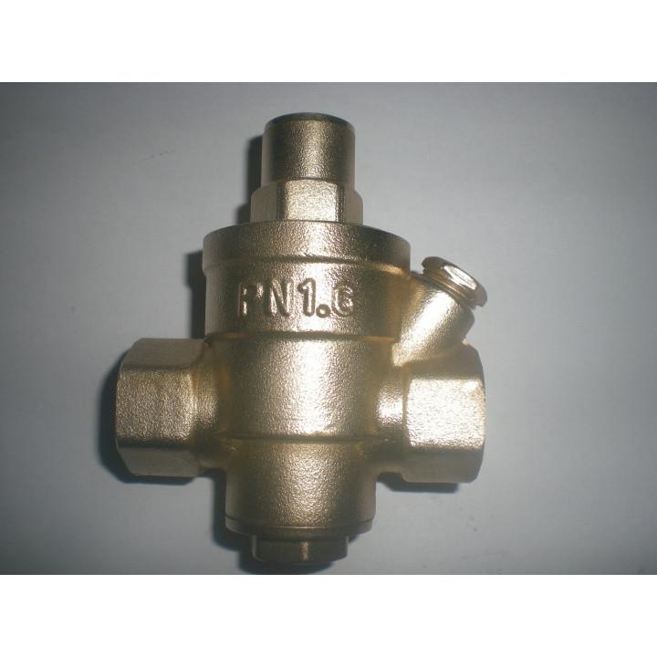 Réducteur limiteur pression eau 1/2 ff 15/21 dn15 manometre détendeur regulateur valve essence gaz