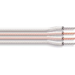 Cable hp extra-plat 4x1,5mm² transparent fiphp4ct (1 mètre)