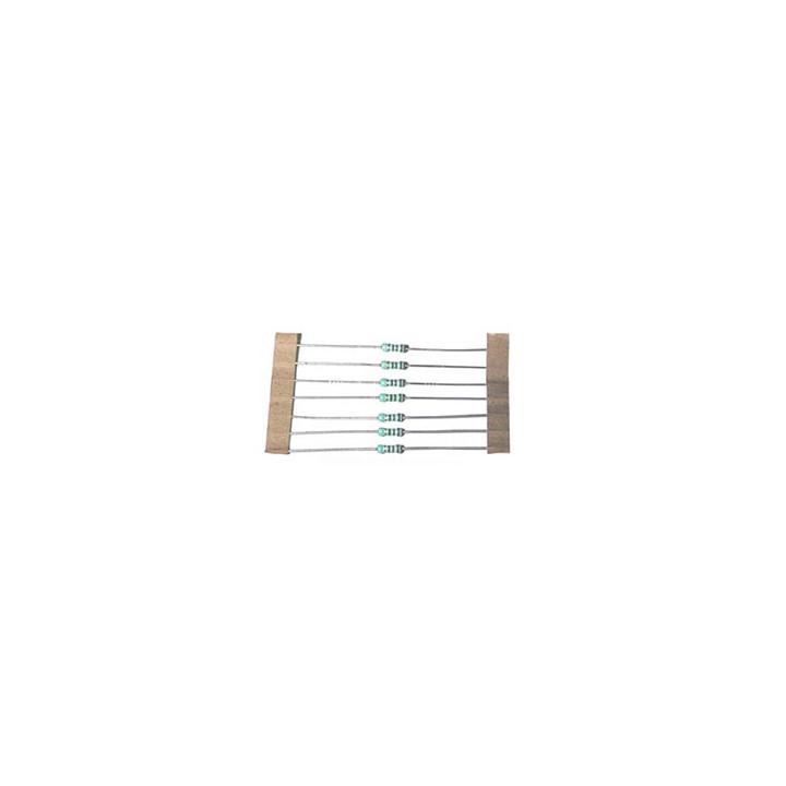 Pack of 100 metal resistors 1/2 w 470 ohms rem12470r-100