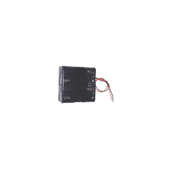 Koppler 8 r6 batterien über einem quadratischen