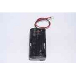Coupler has 4 batteries r6 square wire