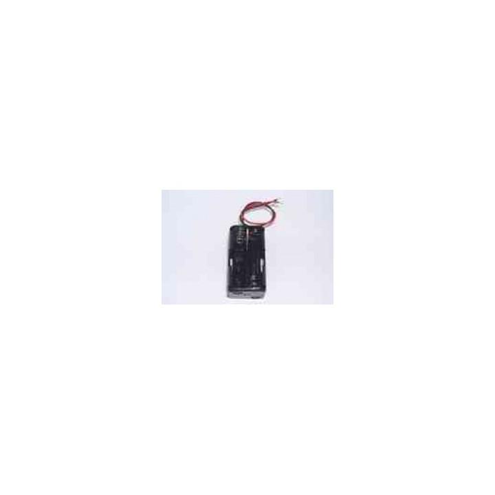 Koppler verfügt über 4 batterien r6 vierkantdraht