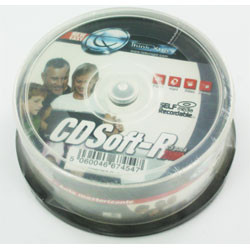 Pack of 25 cd-r - think xtra delivered box