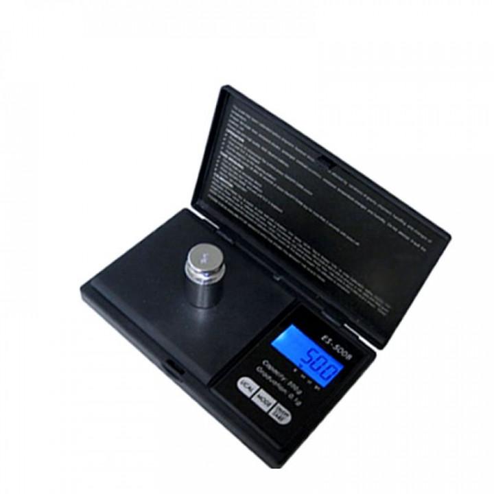 Bilancia elettronica tascabile portatile pesa 500g determinazione del peso 0.1g oggetti di piccole dimensioni