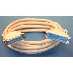 Printer cable 5 meters of cable sub 25 pin male to centronics 36 pin male
