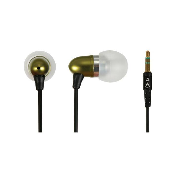 Hpe19 estéreo de auriculares de oído para md/cd/mp3/mp4 corp del metal