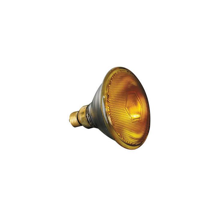 Halogen lamp sylvania 80w 240v, par38, e27,fl 30°, yellow