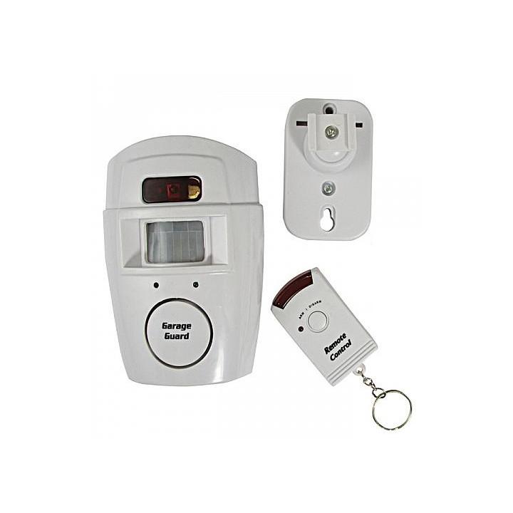 Ir allarme rilevatore di movimento autonomo con telecomando e il volume della sirena st205