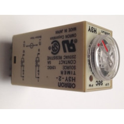 Delay timer dc 12v 0~30 second h3y-2 & base relay electric time lapse 12vdc 2 no nc 5a 250v