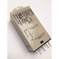 Omron relay 24v 5a h3y-2 timer 1 sec to 30 sec 230v 240v 2 no / nc in work or rest