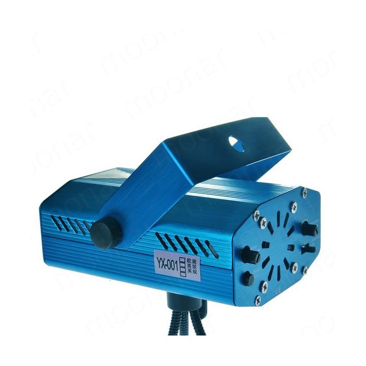 Mini eclairage laser lumiere holographique vert rouge multicolor h4354 effet lumineux