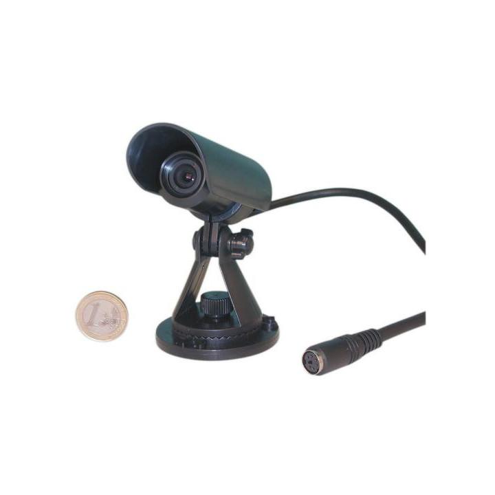 Camara blanco y negro 12v 1 3'' + objetivo 130° hermetica para m12s, m31s, m42q (sin sonido !) vigilancia videovigilancia