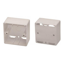 Box 80 x 80 x 45 mm for installation of keypad ref. clp or clm