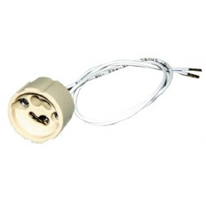 Cerámica toma de salida de cable gu10 elspgu10