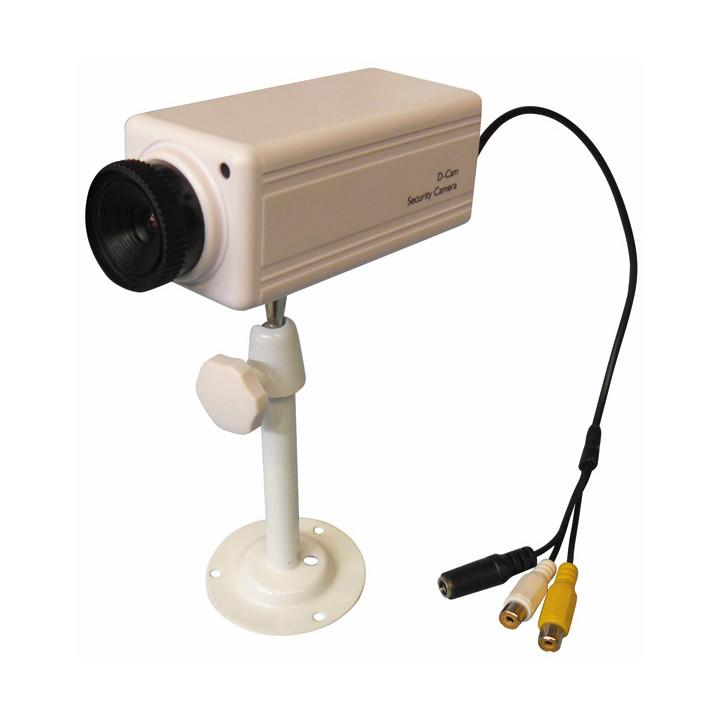 Sistema de audio para la cámara de vídeo de vigilancia color de la cámara de vídeo de color de 9v