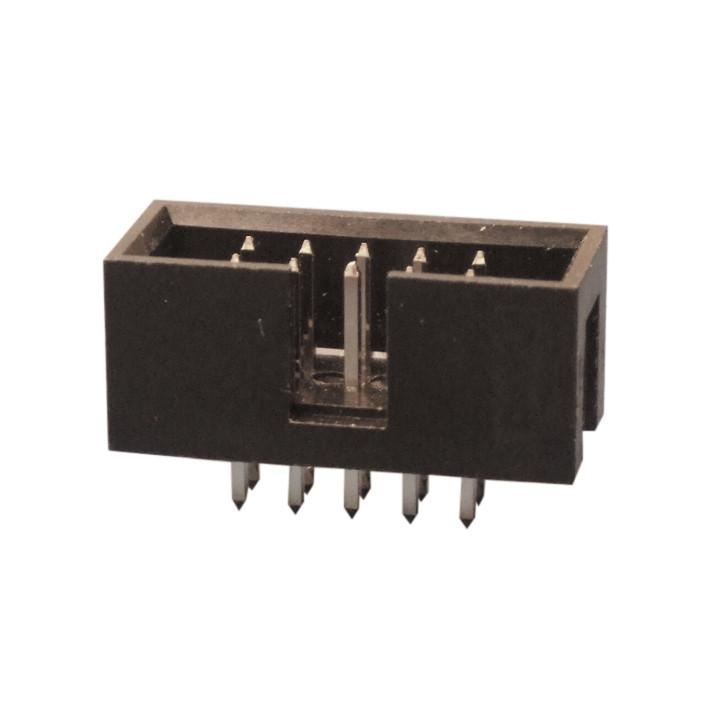 Connettore a 10 pin maschio per pcb a basso profilo he10