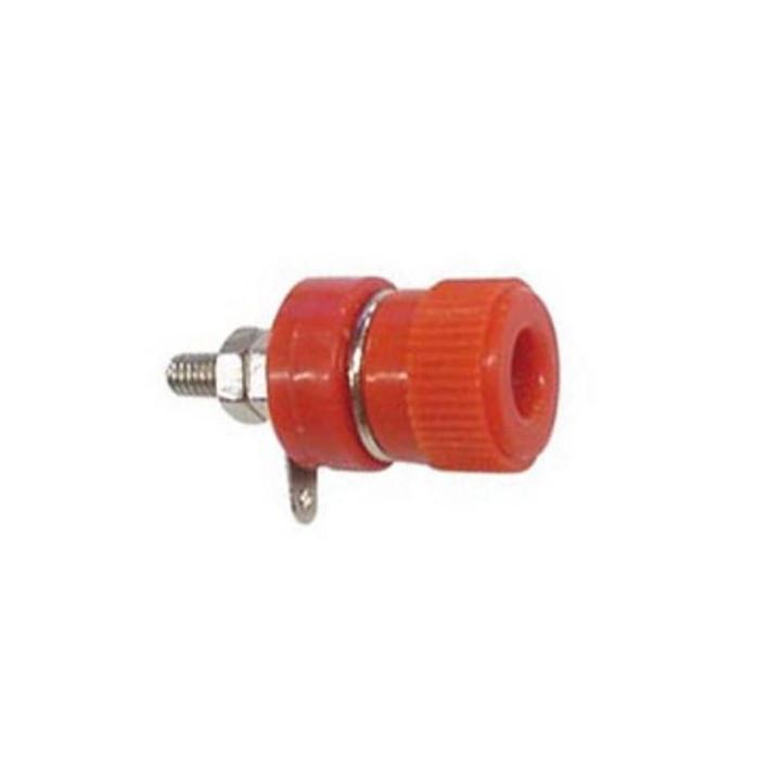 Manicotto 4mm nickelee rosso alimentazione eletrica bassa tensione 12v elettricita elettronica elec