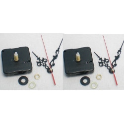 2 quartz clock mechanism