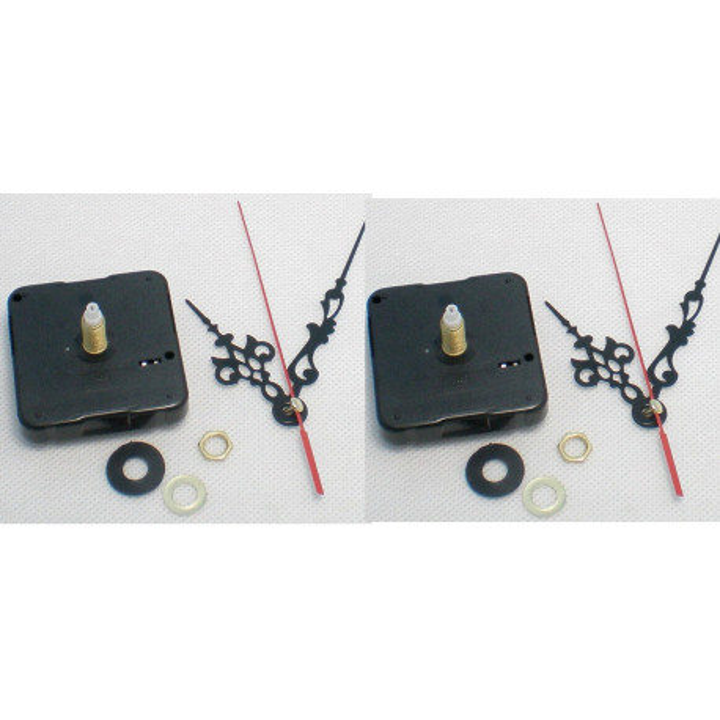 2 quartz clock mechanism