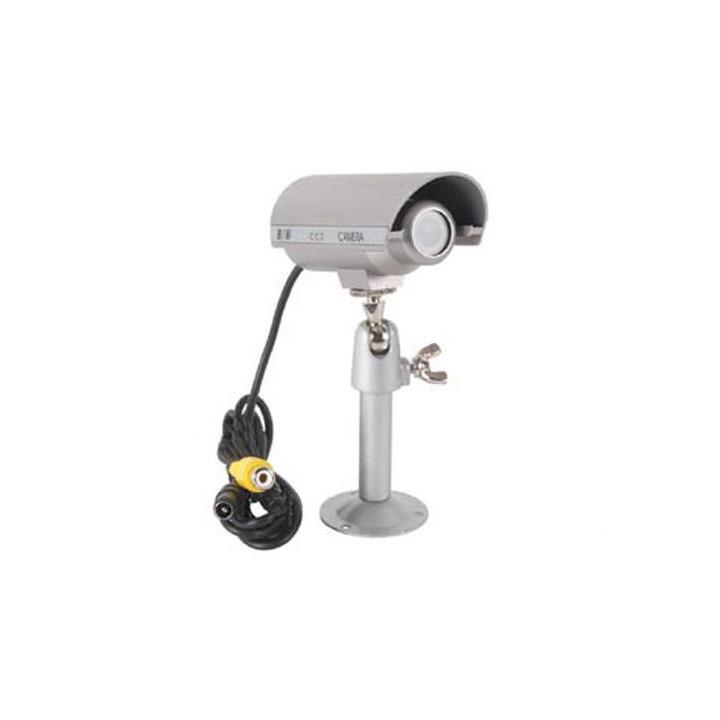Camera surveillance video n/b 12v objectif balle etanche systeme securite contrôle camzwbul4