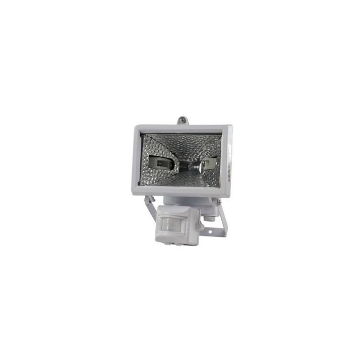 Proiettore alogeno allarme radar volumetrico + cellula fotoelettrica 220vca 150w illuminazione piscina illuminazioni esterno