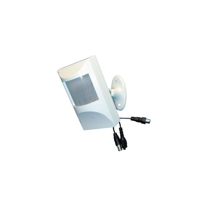 Camara b n 12v 1 3'' + objetivo pinole 3.7mm + detector por infrarrojos vigilancia videovigilancia camaras blanco y negro