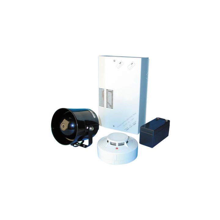 Rauchmelderset mit sprechender sirene elektronische alarmanlage bausatz mit elektronischer sirene rauchmelder