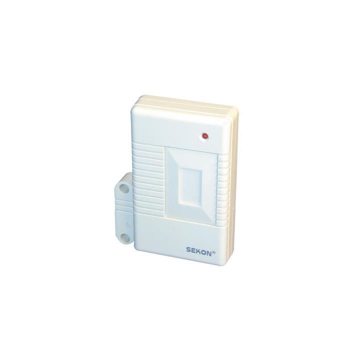 Detecteur ouverture magnetique alarme contact sans fil 30/50m pour ce388, kx388 detecteurs alarmes