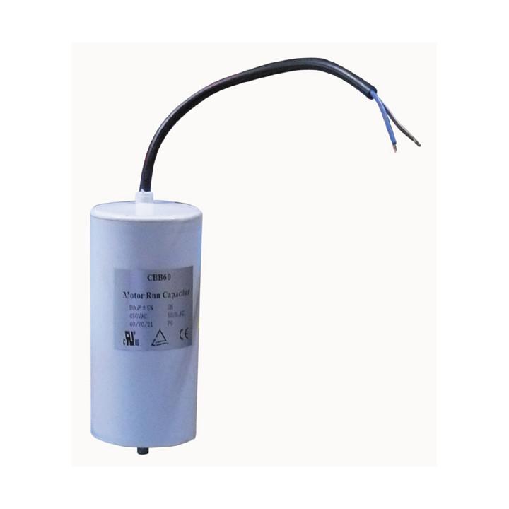 Condensateur de démarrage 400v 450v 500v 80 mf micro farad scr pour moteurs électriques