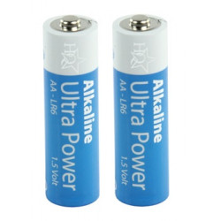Battery 1.5vdc alkaline battery, lr06 aa (2 piece) am3 lr6 15a e91mn1500 815 4006