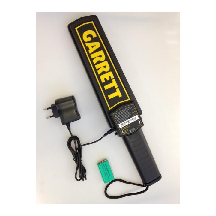 Detecteur metal manuel de securité garrett fouille manuelle objet metallique
