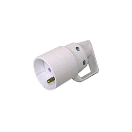 Electric plug 16a 220vac white female electricity connection