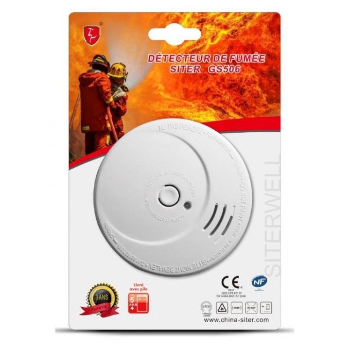 9v detector de humo afnor nf en 14604 antiinciendios autónoma hfa 10809 601096-80