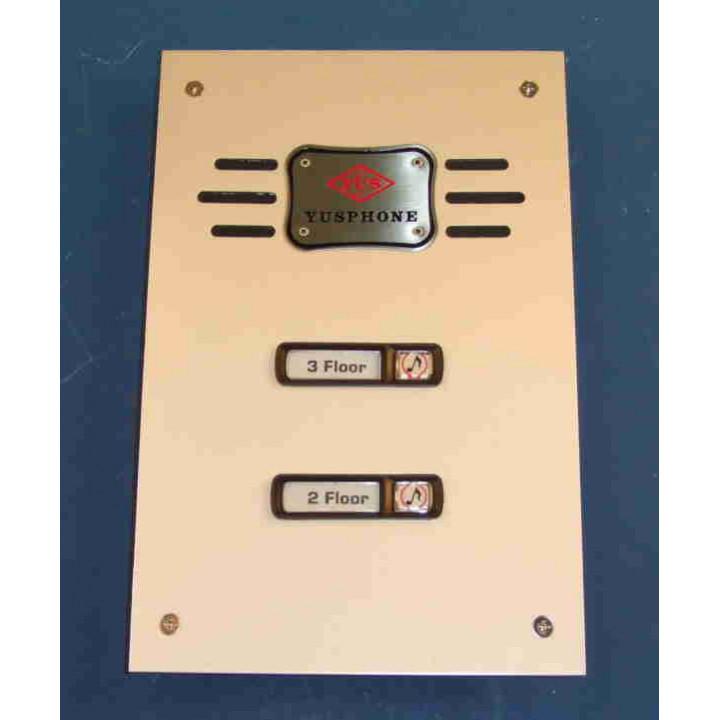 Interphone de rue 2bp (alpp 2xcpp à rajouter) platine interphone de rue platines pour interphones