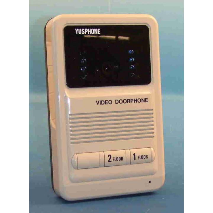 S w videotursprechanlage fur 2 wohnungen (kameraeinheit) elektronische tursprechanlage