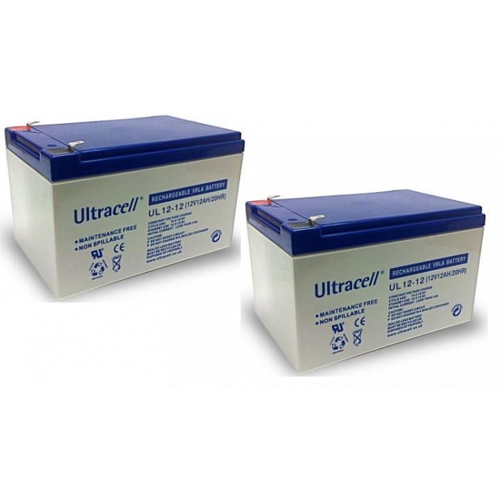 2 rechargeable battery 12v 12ah rechargeable battery lead calcium battery