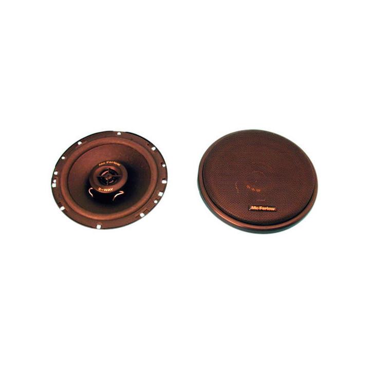 Cassa acustica a due vie 120w da incastro per autoveicolo (la coppia)