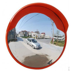 Convex mirror panoramic frame pvc cap 45cm field of view of 180 °
