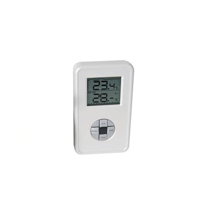 Thermometre sans fil de rechange intérieur pour wspt1 piscine jacuzzi jardin etang temperature