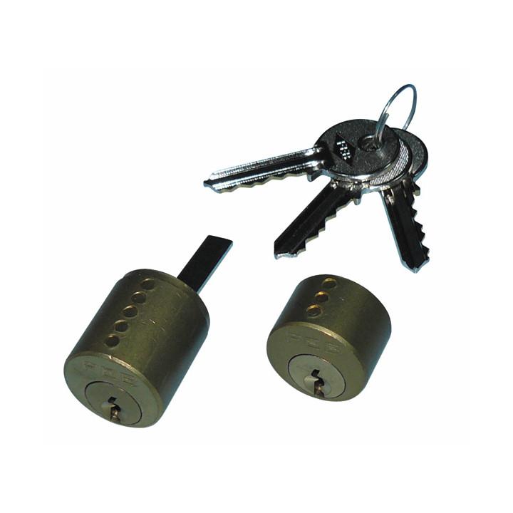 Cerradura de cilindro canon con 3 llaves para 5001.1z eléctrica