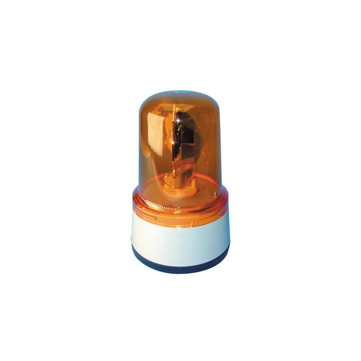 Rotating light amber fixed (12vdc 35w)